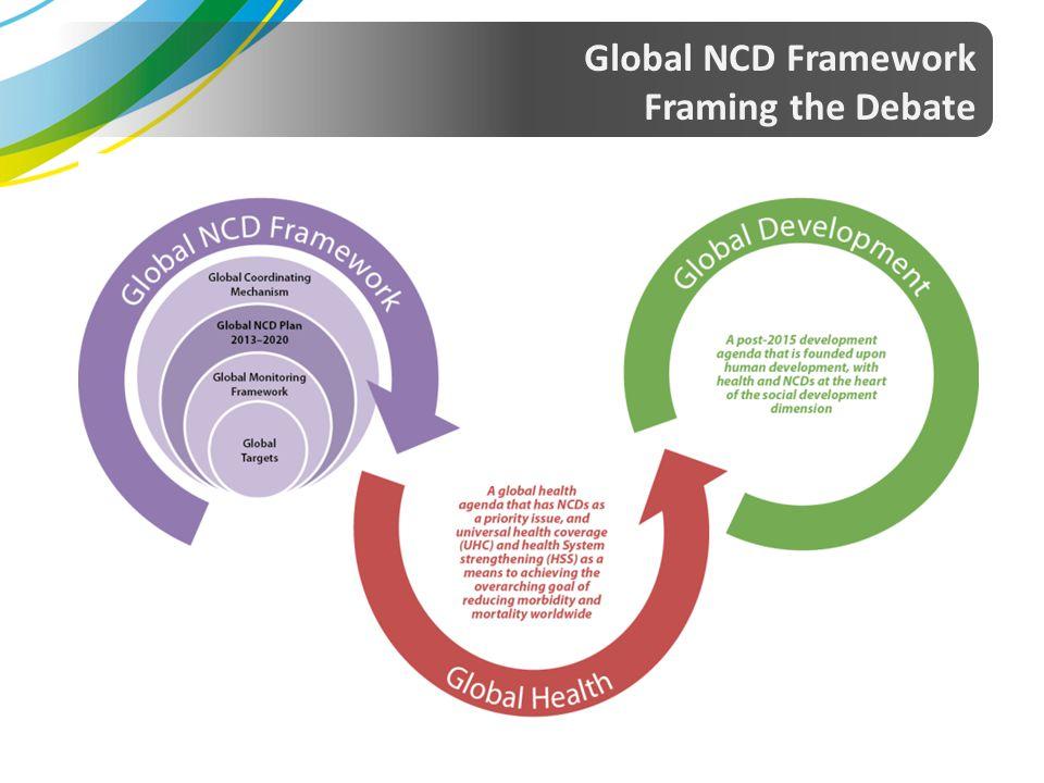 Global NCD Framework Framing the Debate