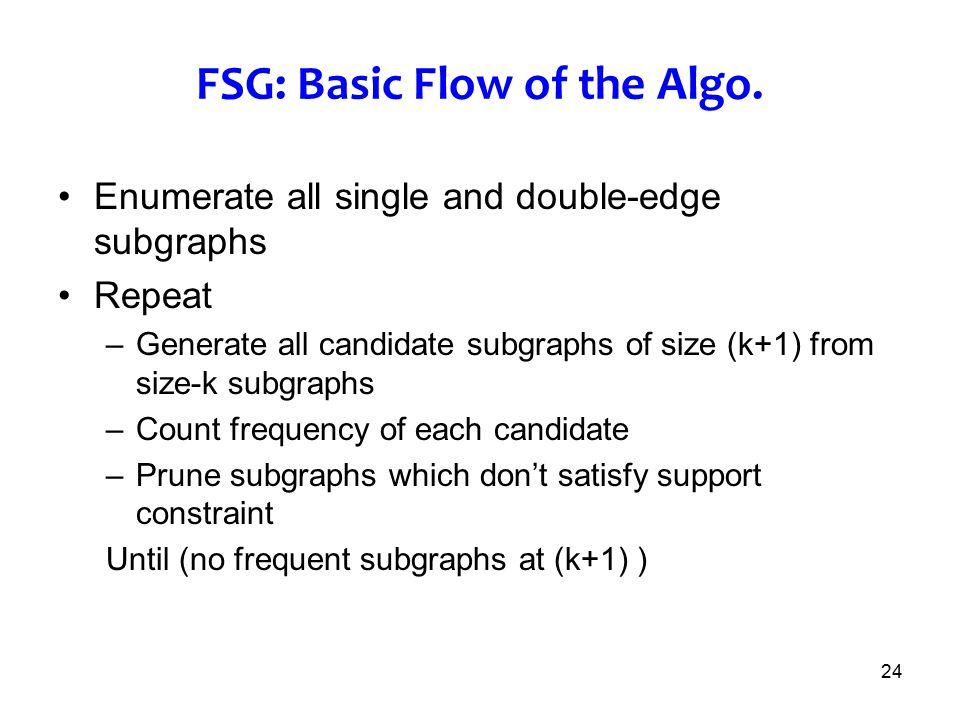FSG: Basic Flow of the Algo.