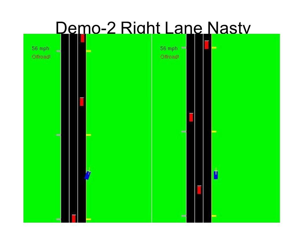Demo-2 Right Lane Nasty