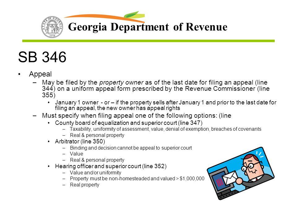 SB 346 Appeal.