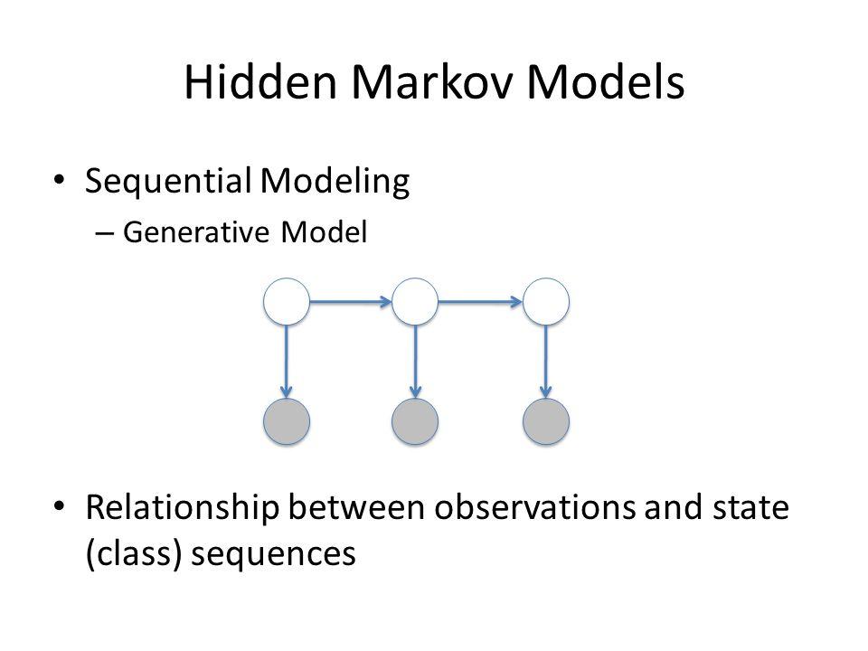 Hidden Markov Models Sequential Modeling