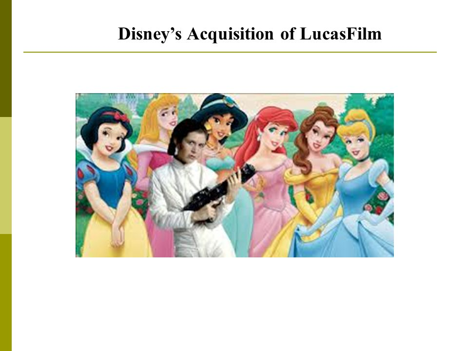 Disney's Acquisition of LucasFilm