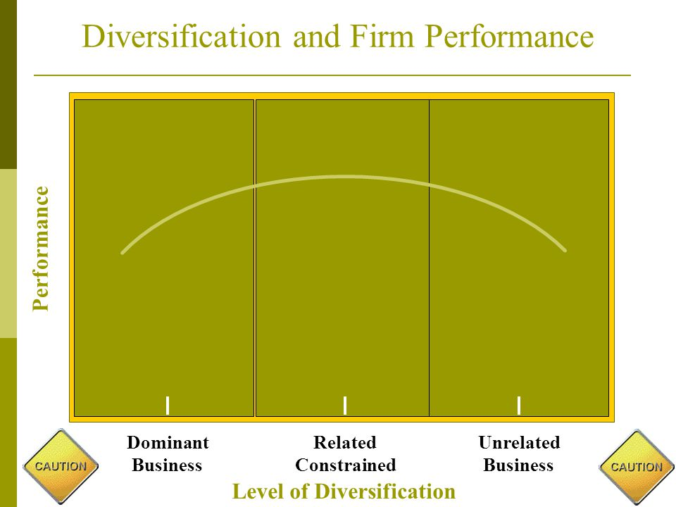 diversification and firm performance This study aimed to investigate the relationship between corporate diversification  and firm performance in a developing country previous studies have found.