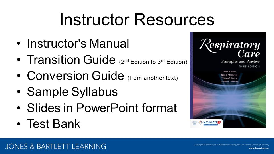 Instructor Resources Instructor s Manual