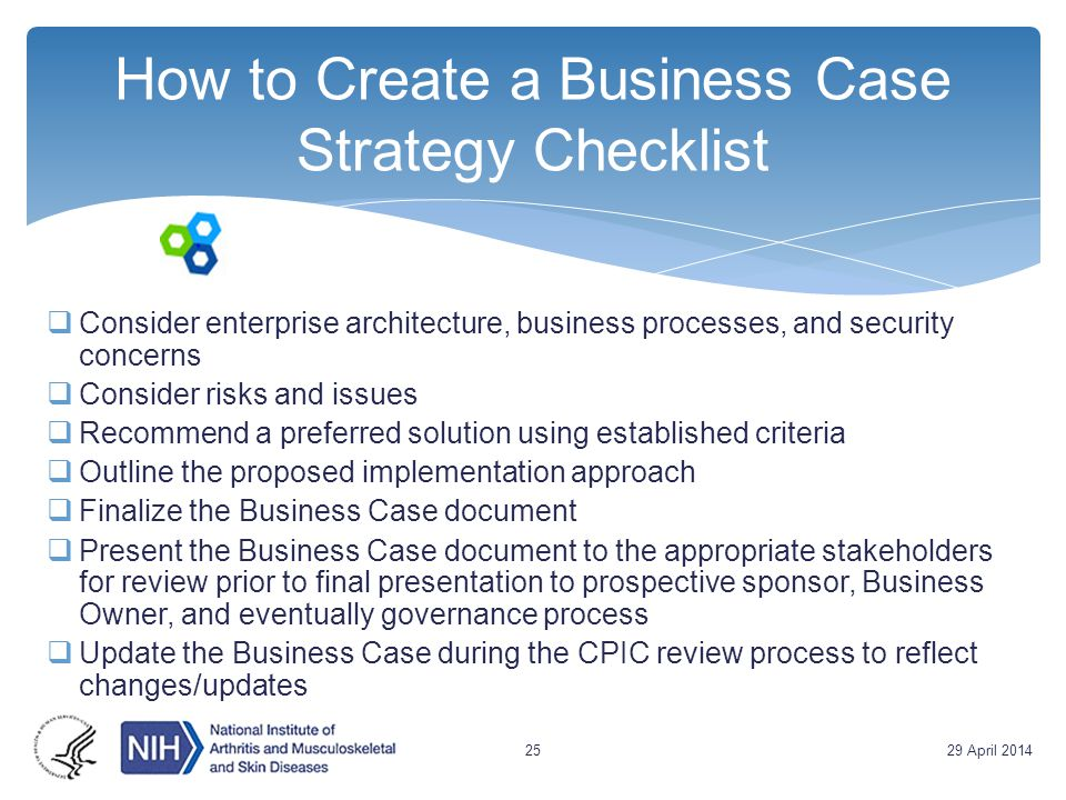 Strategies and considerations for building a business case ppt how to create a business case strategy checklist wajeb Choice Image