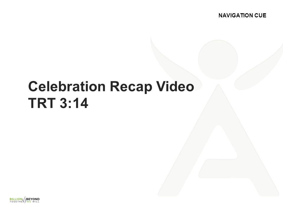 Celebration Recap Video TRT 3:14