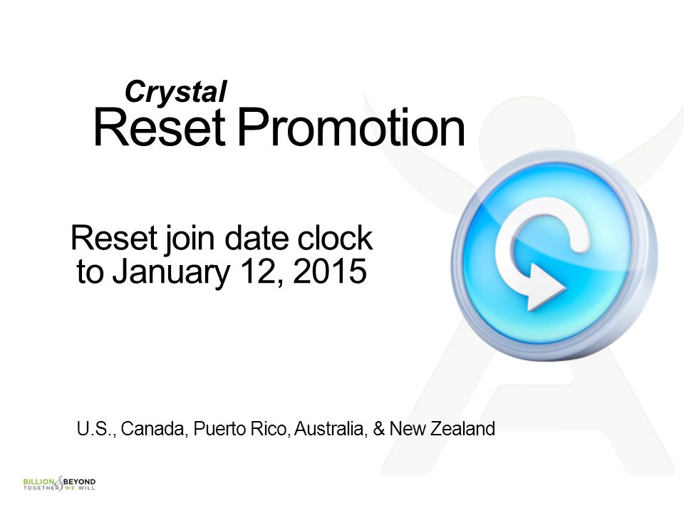 Reset join date clock to January 12, 2015