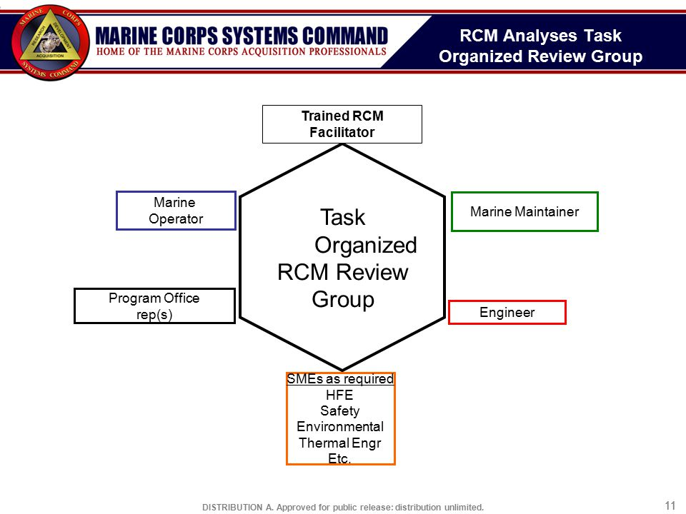 RCM Analyses Task Organized Review Group