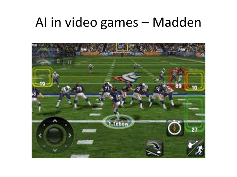 AI in video games – Madden