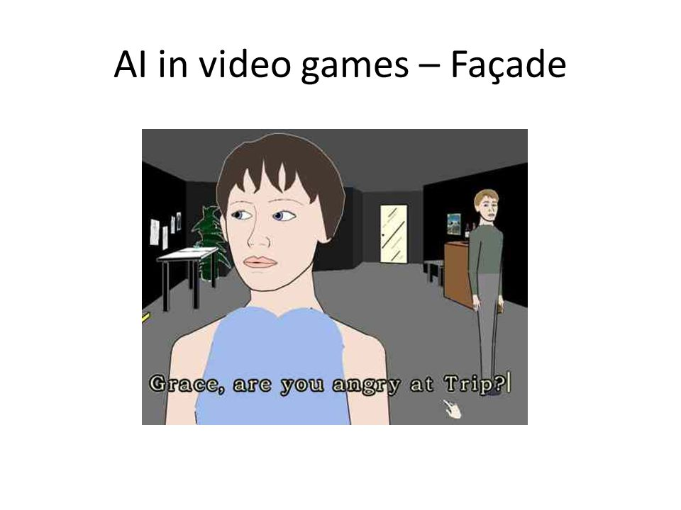 AI in video games – Façade