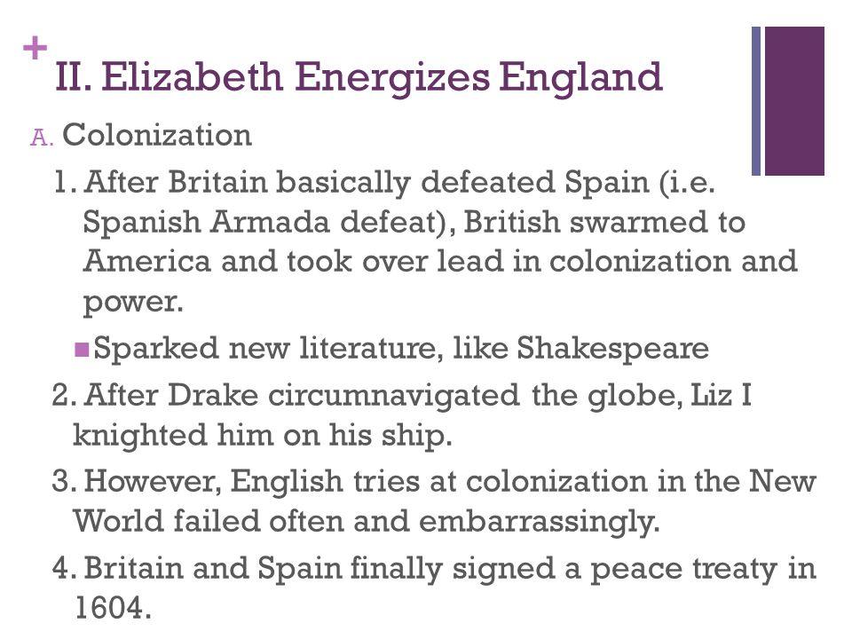 II. Elizabeth Energizes England