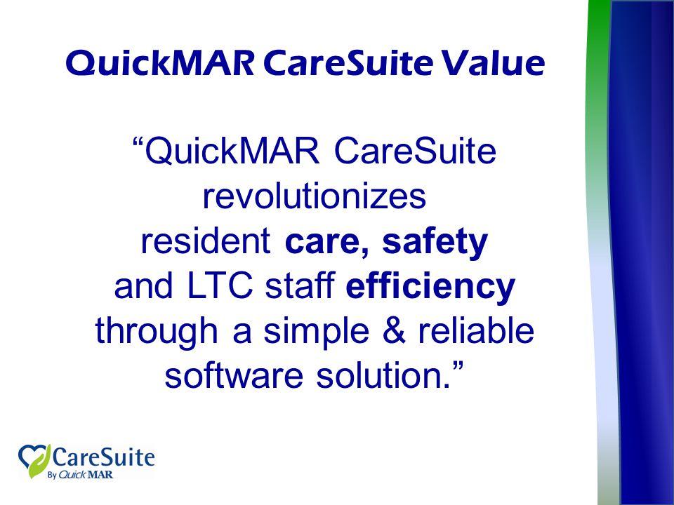 QuickMAR CareSuite Value