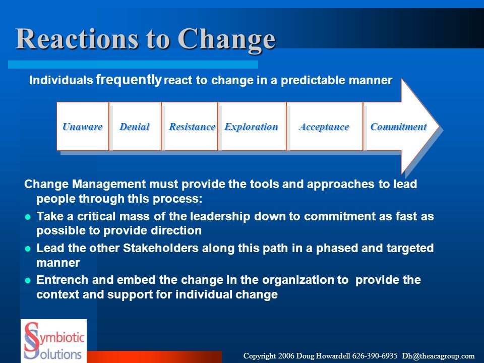 case study on leadership and change management