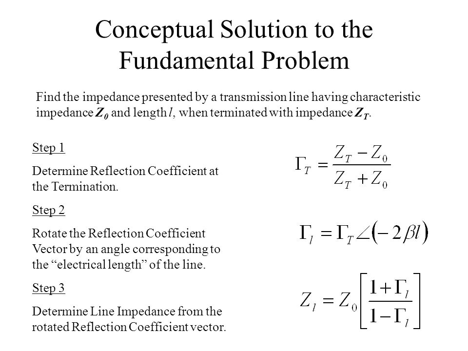 Conceptual Solution to the Fundamental Problem