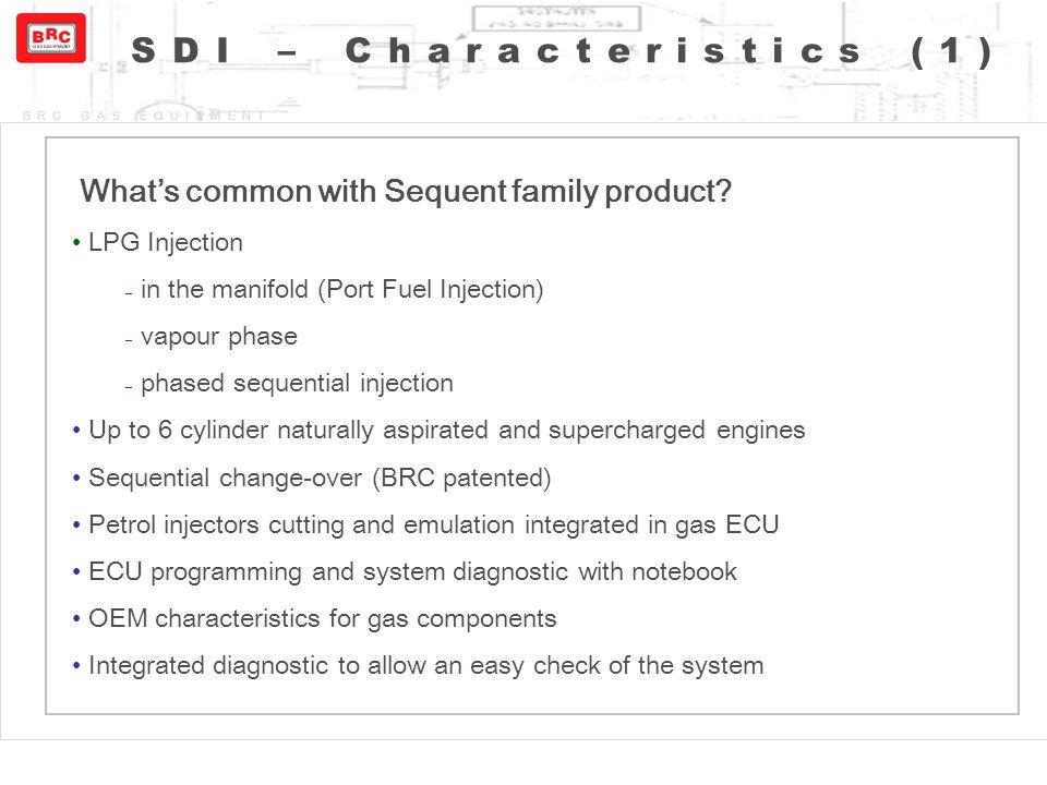 SDI – Characteristics (1)