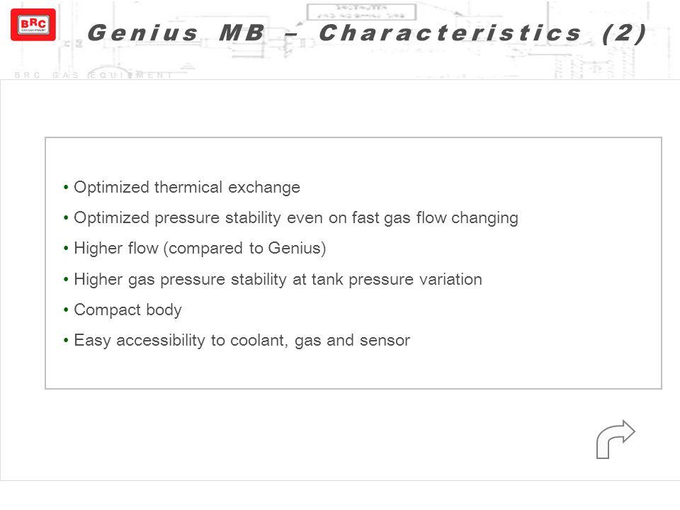 Genius MB – Characteristics (2)