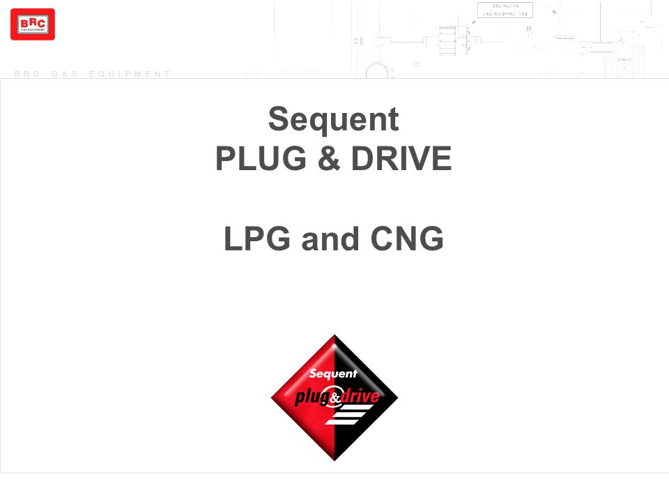 Sequent PLUG & DRIVE LPG and CNG