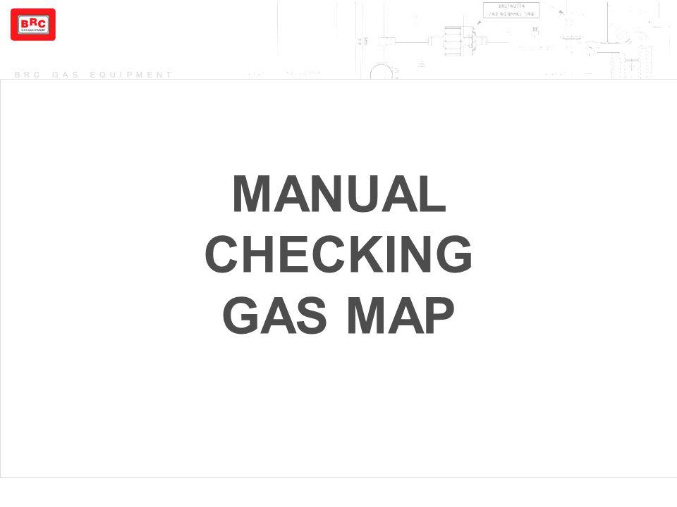 MANUAL CHECKING GAS MAP