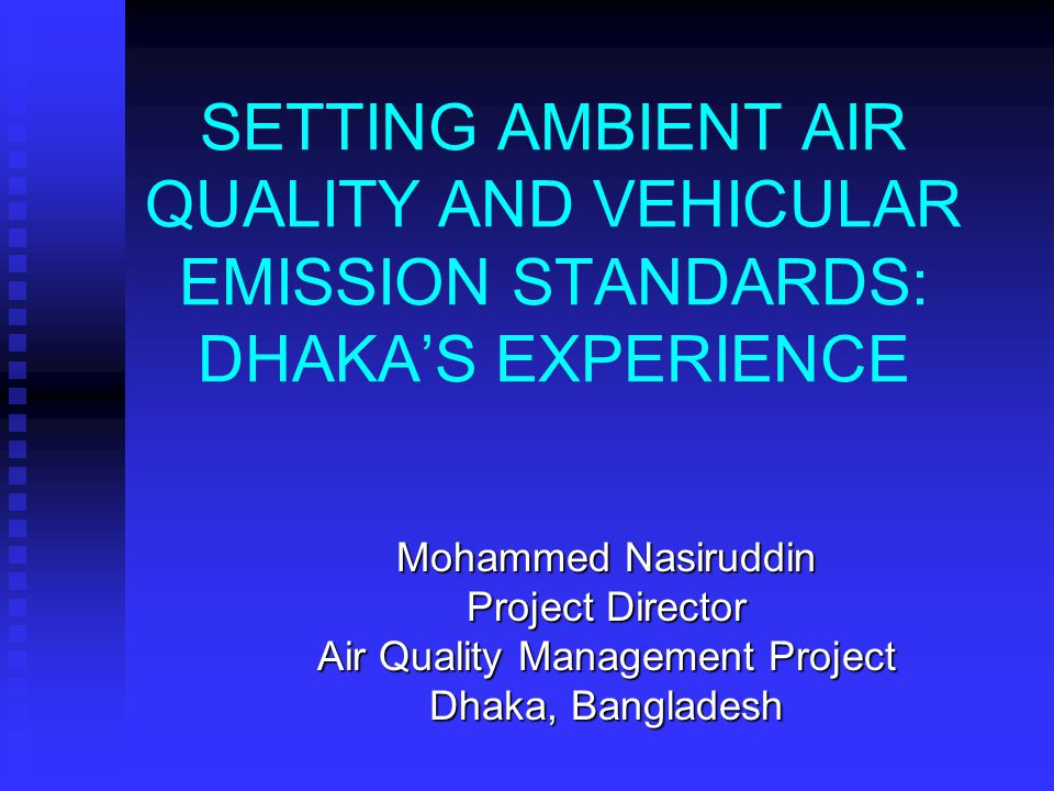 Air Quality Management Project