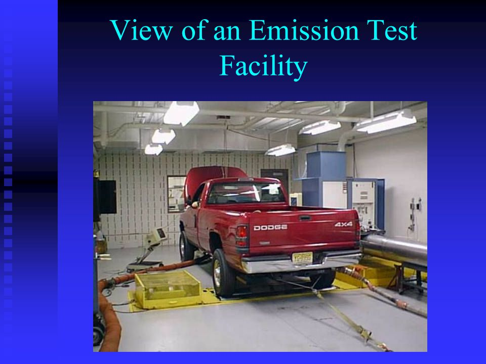 View of an Emission Test Facility