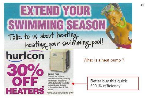 What is a heat pump Better buy this quick: 500 % efficiency