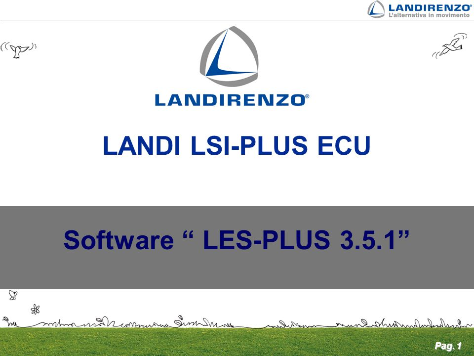 LANDI LSI-PLUS ECU Software LES-PLUS 3.5.1