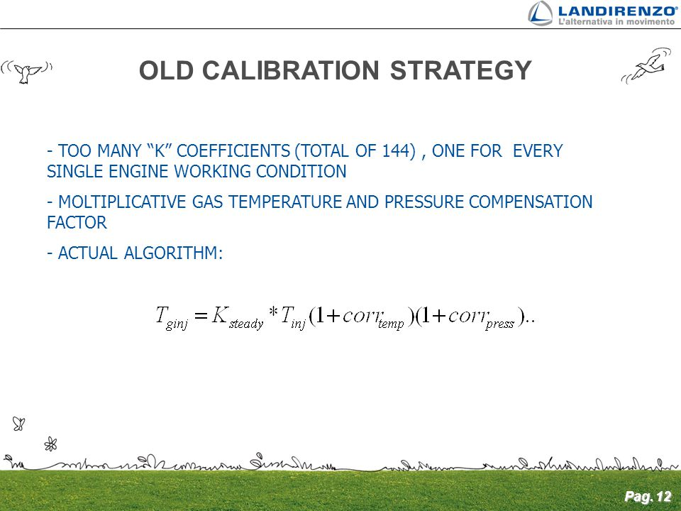 OLD CALIBRATION STRATEGY