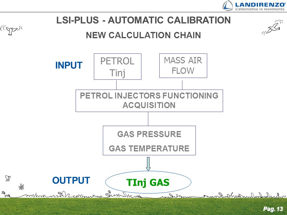 LSI-PLUS - AUTOMATIC CALIBRATION