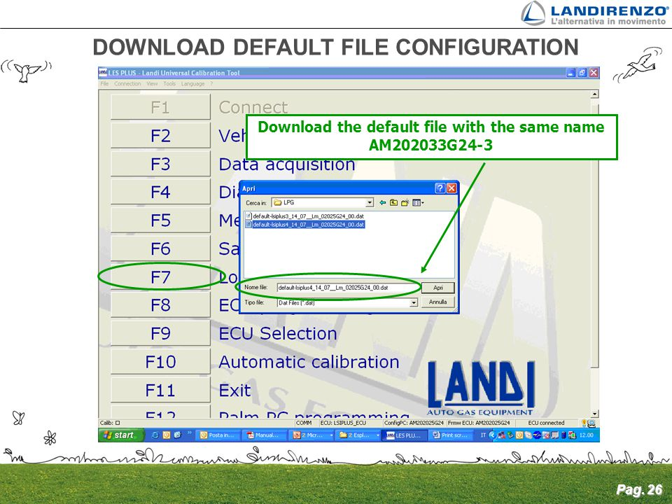 DOWNLOAD DEFAULT FILE CONFIGURATION