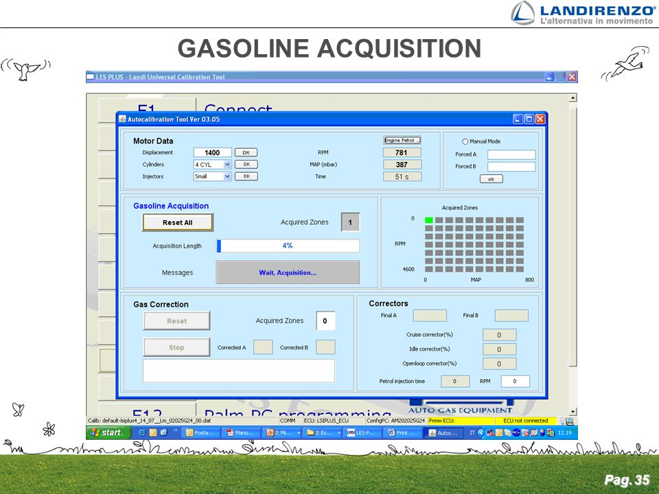 GASOLINE ACQUISITION