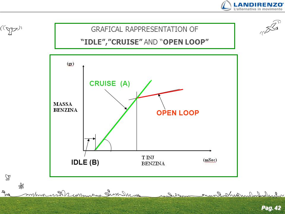 GRAFICAL RAPPRESENTATION OF IDLE , CRUISE AND OPEN LOOP