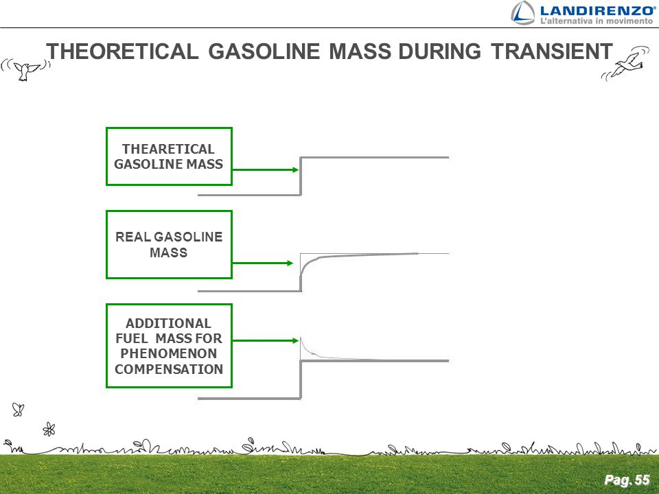 THEORETICAL GASOLINE MASS DURING TRANSIENT