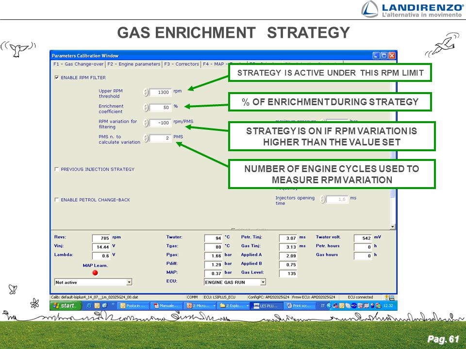 GAS ENRICHMENT STRATEGY