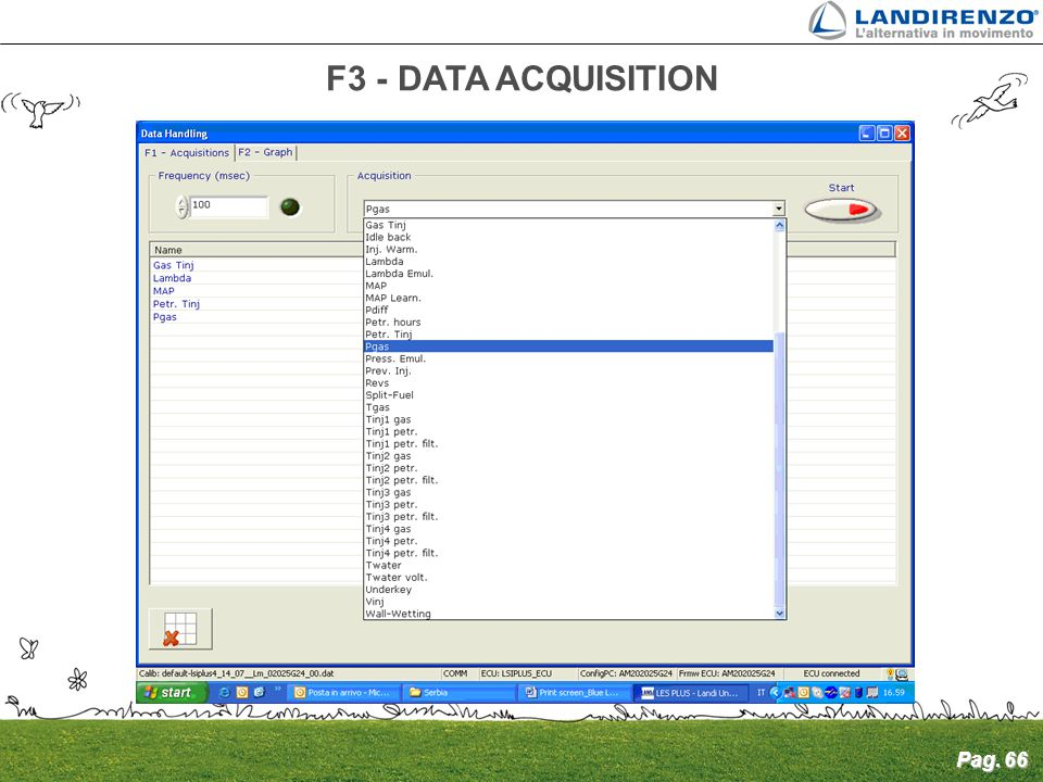 F3 - DATA ACQUISITION