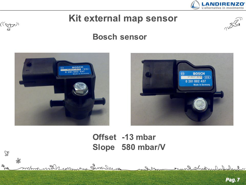 Kit external map sensor
