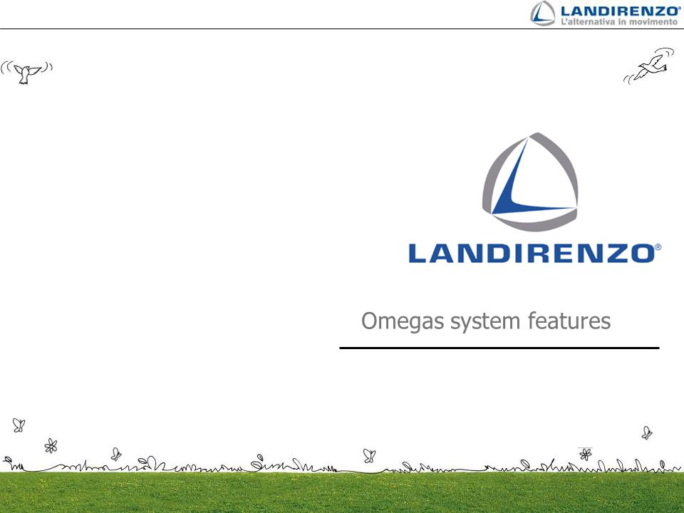 Omegas system features