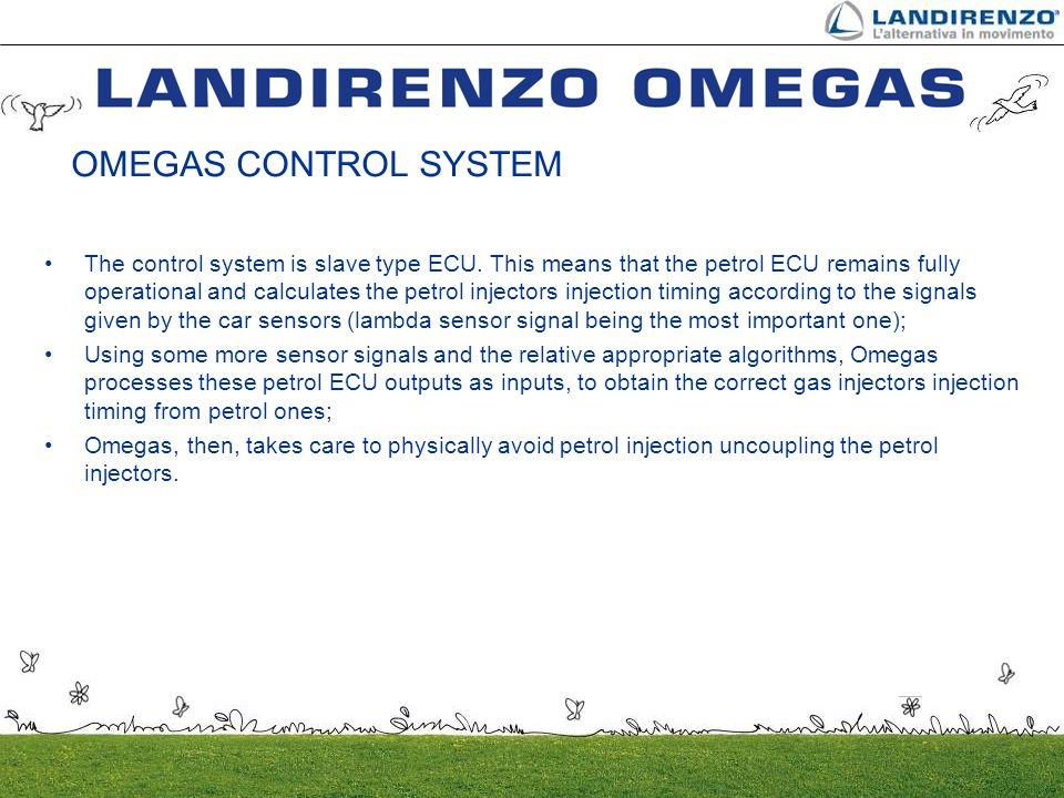 OMEGAS CONTROL SYSTEM