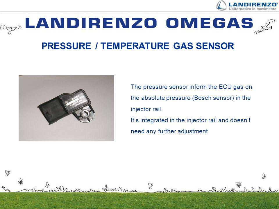 PRESSURE / TEMPERATURE GAS SENSOR