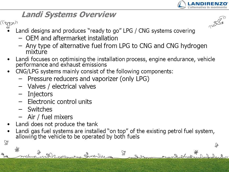Landi Systems Overview