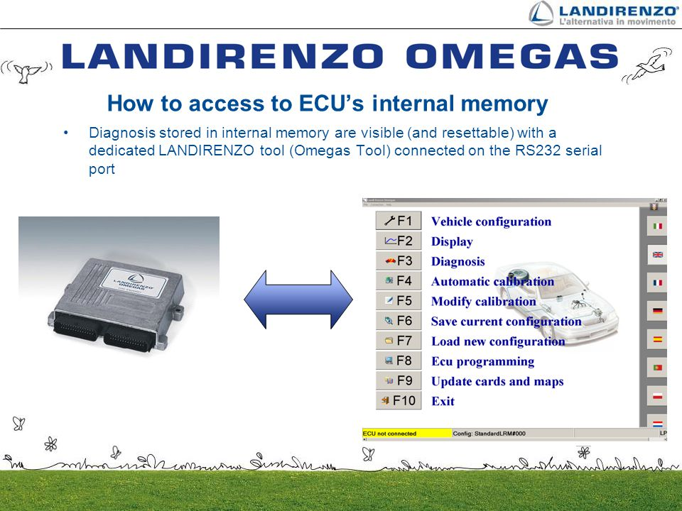 How to access to ECU's internal memory