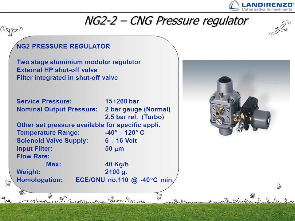 NG2-2 – CNG Pressure regulator