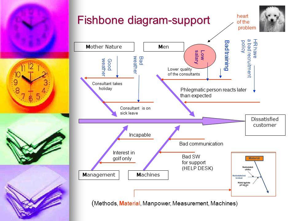 Fishbone diagram-support