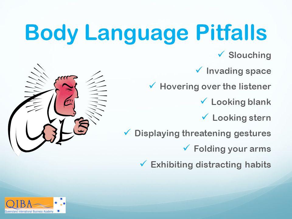 Body Language Pitfalls