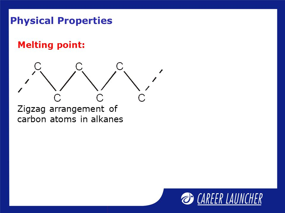 Physical Properties Melting point: