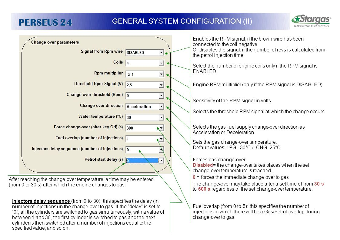 GENERAL SYSTEM CONFIGURATION (II)
