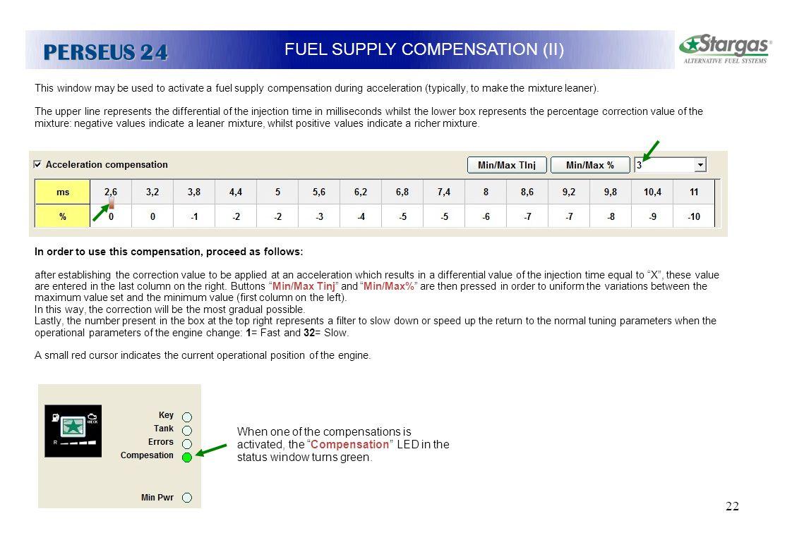 FUEL SUPPLY COMPENSATION (II)
