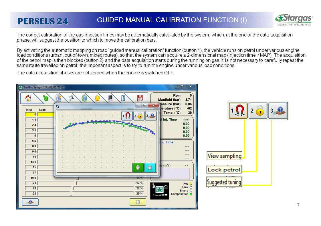 GUIDED MANUAL CALIBRATION FUNCTION (I)