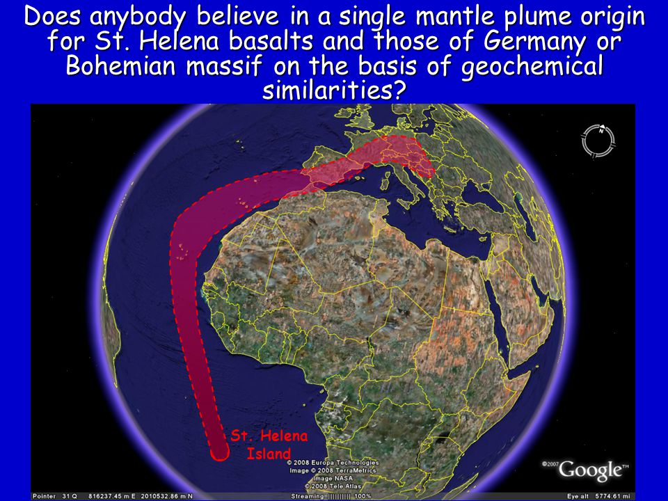Does anybody believe in a single mantle plume origin for St
