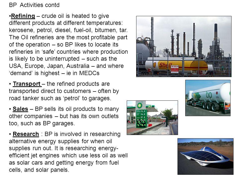BP Activities contd
