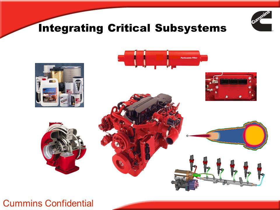 Integrating Critical Subsystems